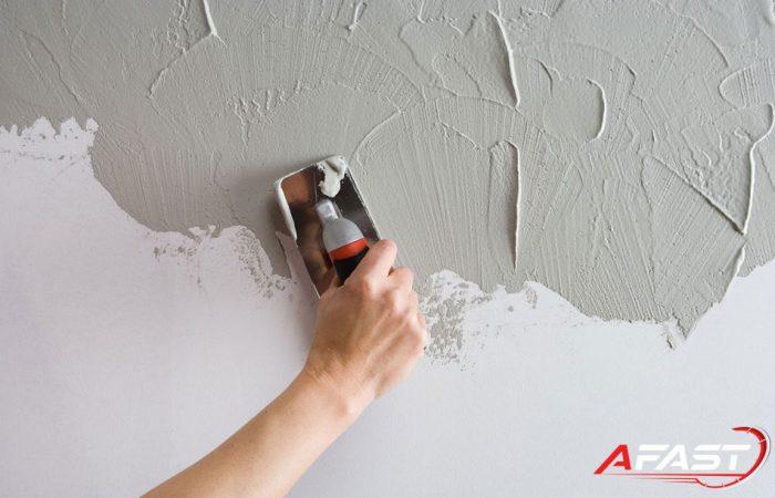 Bột trét tường là gì? Tác dụng của bột trét khi sơn nhà - Afast.vn