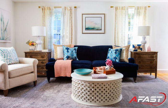 Xu hướng chọn màu sơn nhà đẹp, hiện đại cho phòng khách - Afast.vn