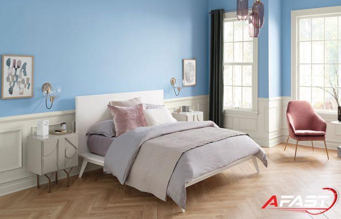 Xu hướng chọn màu sơn nhà đẹp, hiện đại cho phòng ngủ - Afast.vn